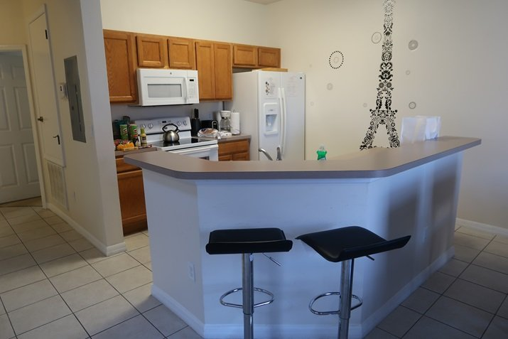 Aluguel de casas em Orlando Cozinha