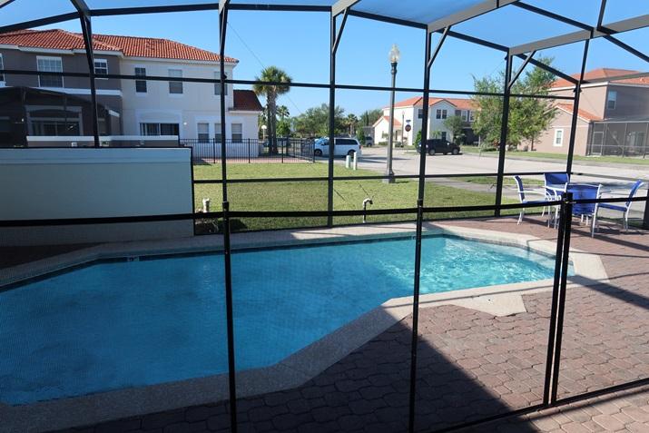 Aluguel de casas em Orlando piscina