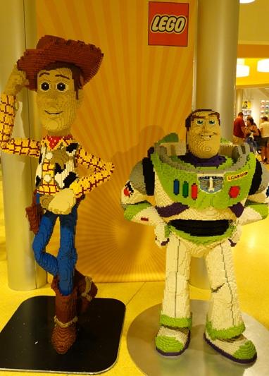 Disney Springs Lego
