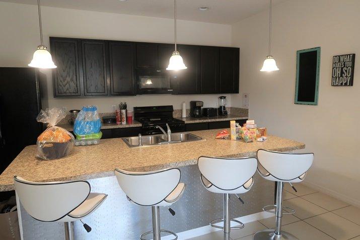 Alugar Casas em Orlando cozinha