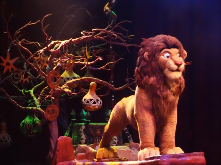 Parque Animal Kingdom rei Leão