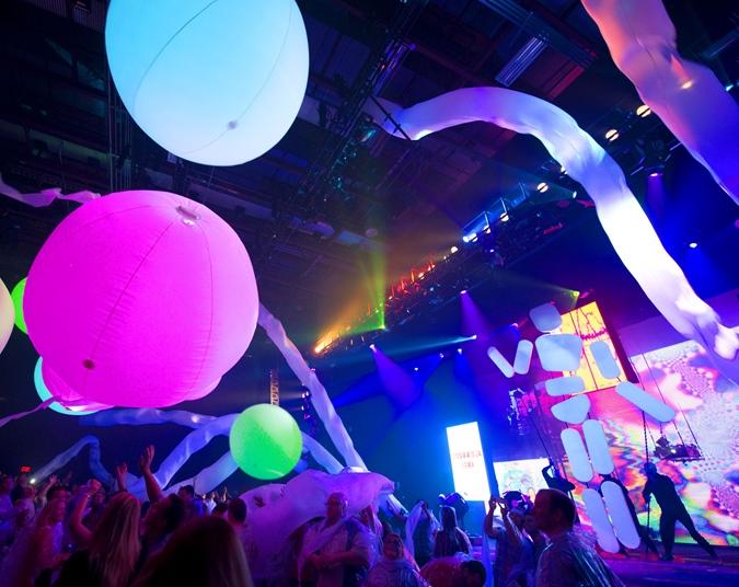 Blue Man Group em Orlando Show