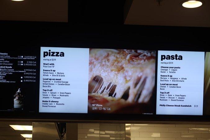 Mcdonalds Orlando Pizzas e Massas