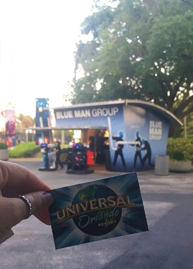 Blue Man Group Preço do Ingresso