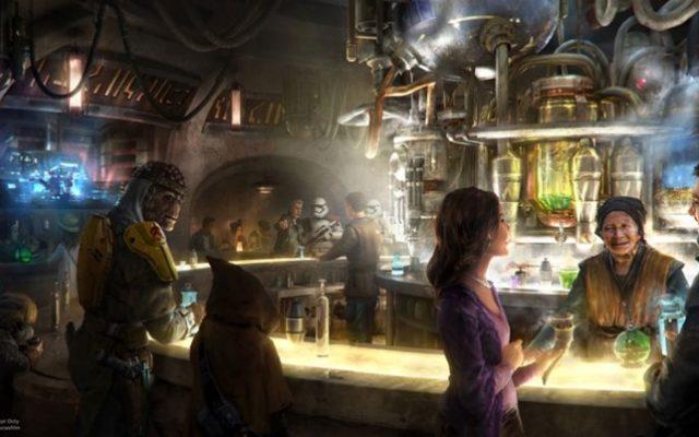 Novo restaurante de Star Wars no Hollywood Studios