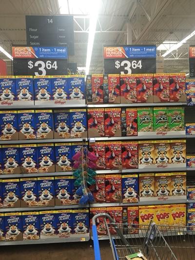 Café da manhã americano Cereal Walmart