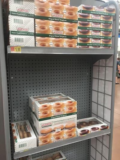 Café da manhã americano Donuts Walmart