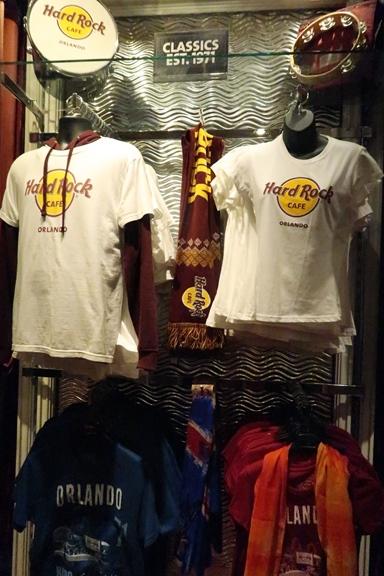 Hard Rock Cafe Orlando Loja Blusas