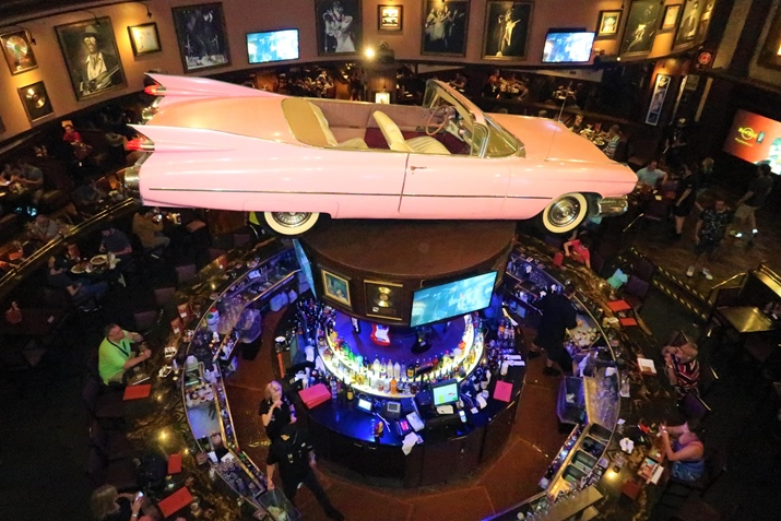 Hard Rock Cafe Orlando Ambiente