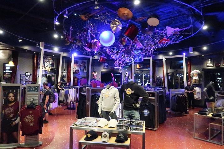 Hard Rock Cafe Orlando Loja Produtos