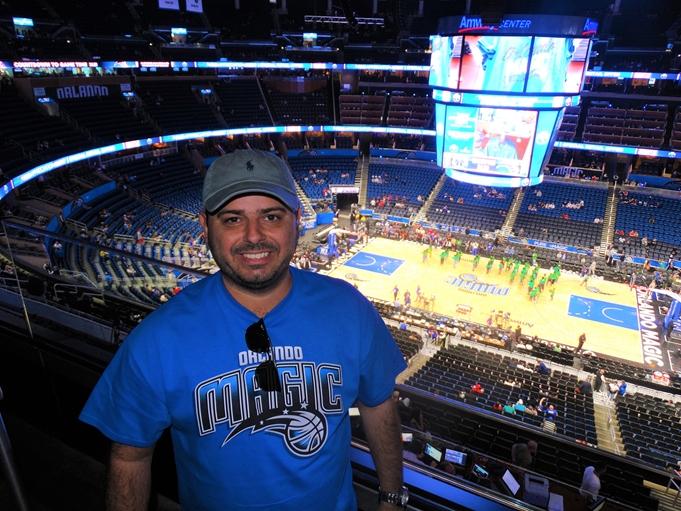 Orlando Magic Anway Center NBA
