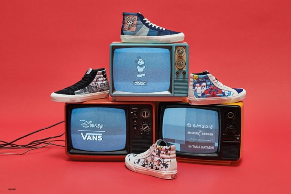 Vault by Vans Mickey 90 anos!