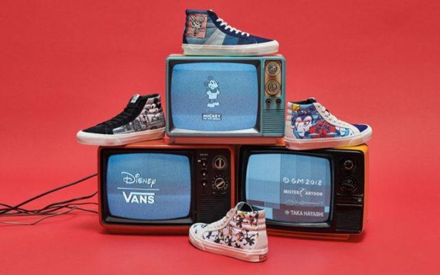 Vault by Vans Mickey 90 anos!