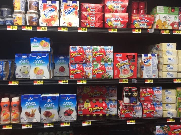Café da manhã americano Yogurt Walmart