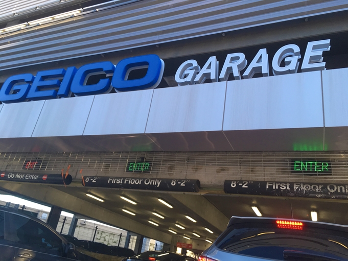 Geico garage Anway Center