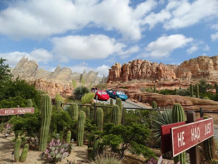 Disney California Area de Carros