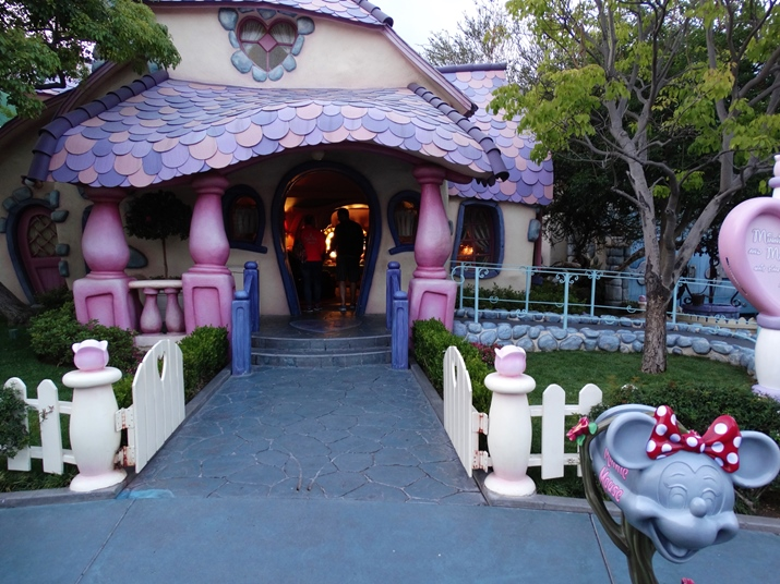 Disney California Casa da Minnie e Mickey