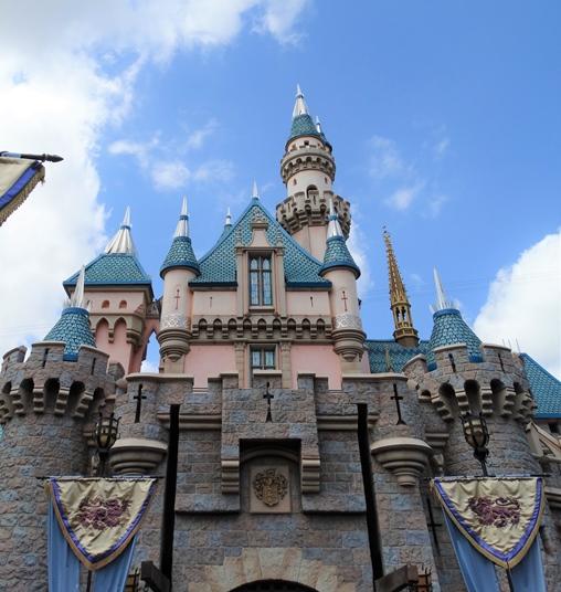 Disney California Castelo Bela Adormecida