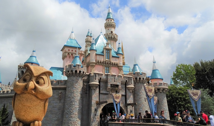 Disney California Castelo