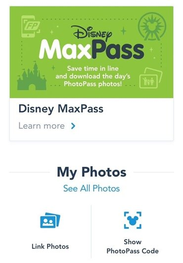 Disney California MaxPass
