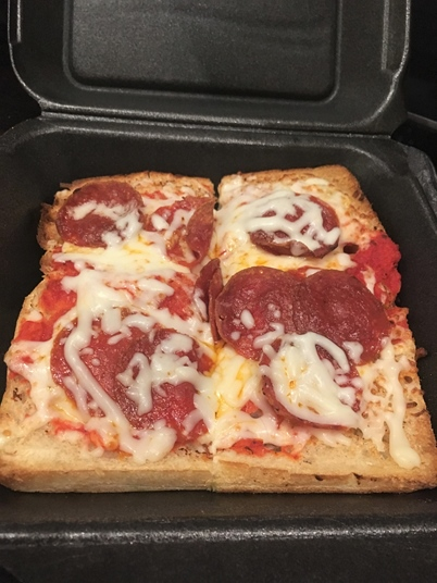 pizza bread earl of sandwich