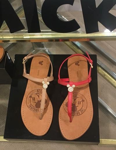 Arezzo Mickey 90 anos sandália