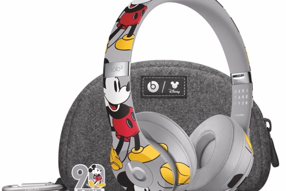 Fones da Beats Solo3 Mickey 90 anos