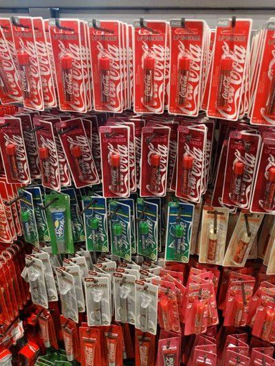 Loja da Coca-Cola batom