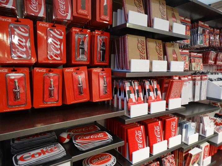 Loja da Coca-Cola papelaria