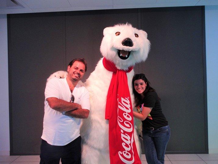 Loja da Coca-Cola Urso Polar