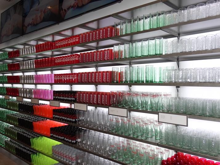 Loja da Coca-Cola Copos