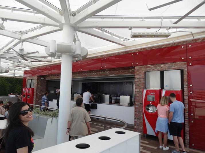 Loja da Coca-Cola Rooftop