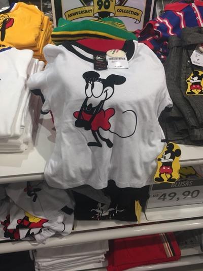 Forever 21 Brasil Minnie Mickey