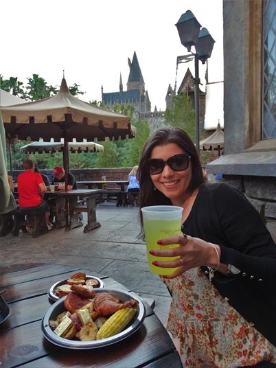 Três Vassouras restaurante Harry Potter