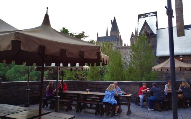 Três Vassouras: restaurante do Harry Potter no Islands of Adventure