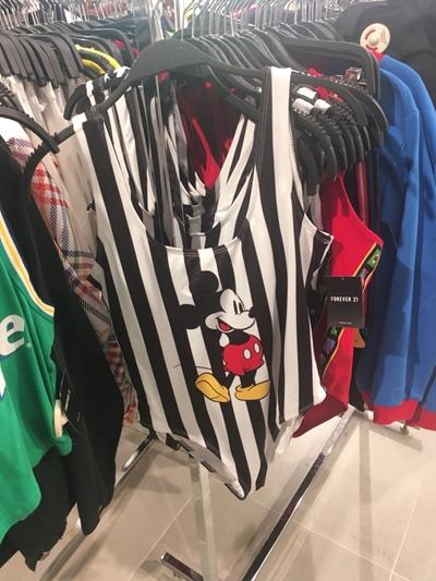 Forever 21 Brasil Mickey Maiô