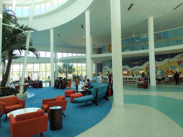 Cabana Bay Orlando Universal Lobby