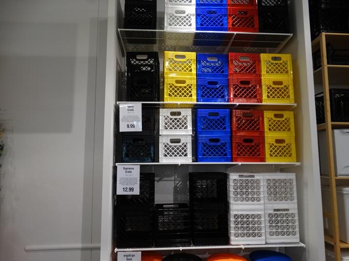 The Container Store Loja cestas organizadoras