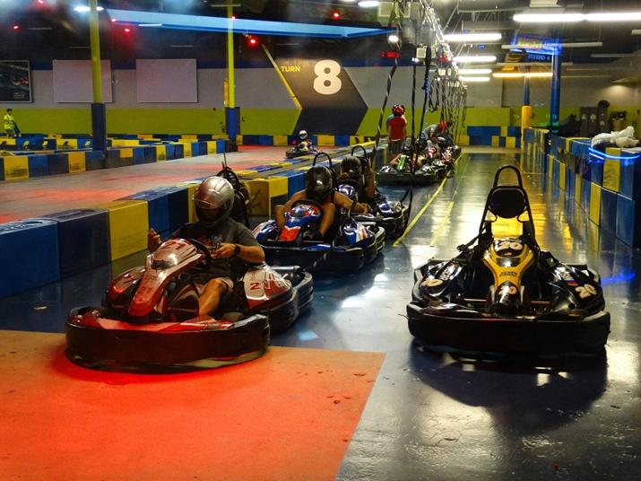 i-drive nascar corrida kart Orlando