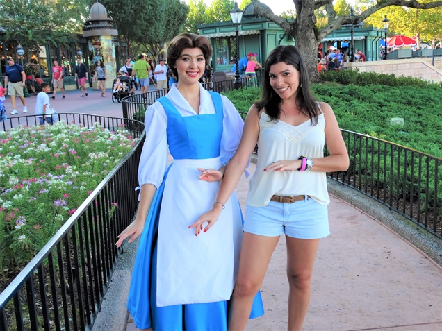 onde encontrar as princesas da disney Bela