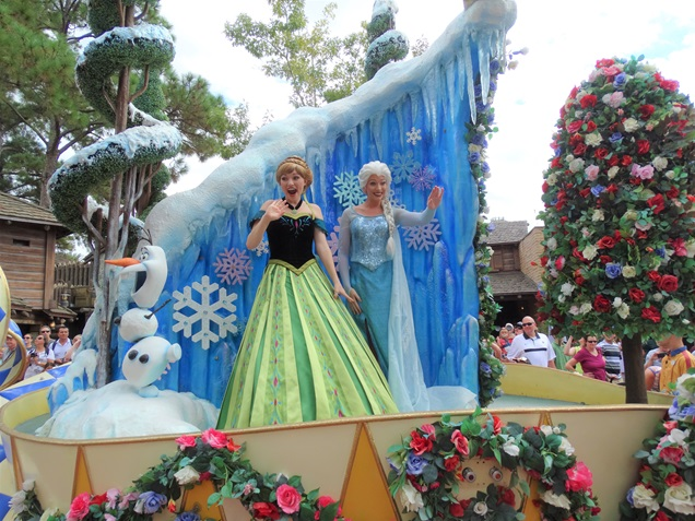 onde encontrar as princesas da disney Frozen