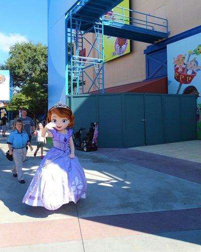 onde encontrar as princesas da disney Sofia
