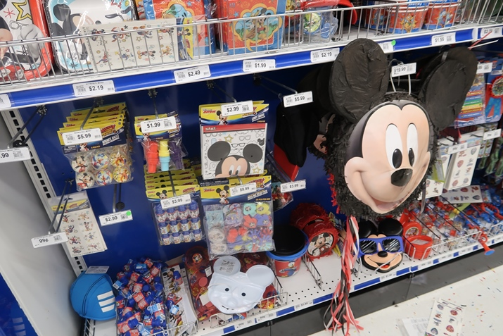 Party City Orlando Mickey Festa