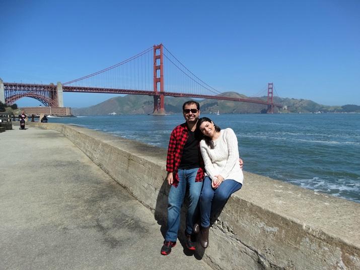 Roteiro Califórnia Golden Gate