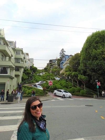 Roteiro Califórnia Lombard Street