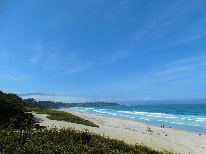 Roteiro Califórnia Carmel praia