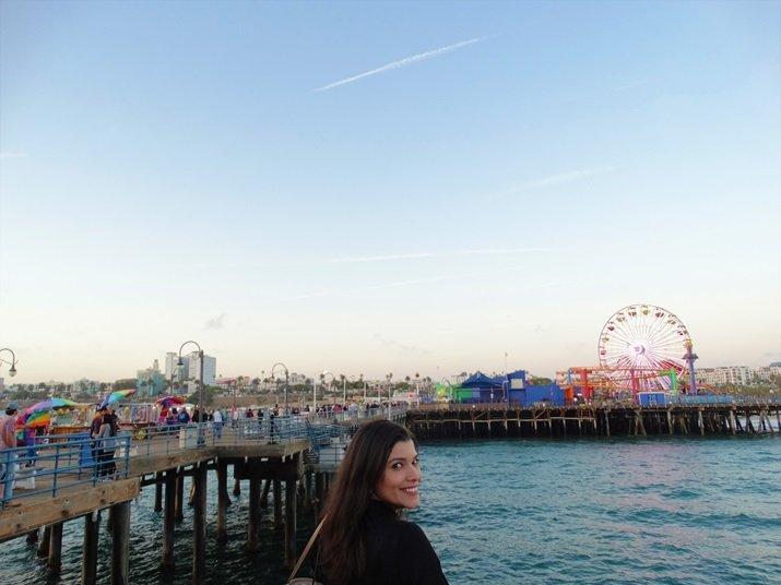 Roteiro Califórnia Pier Santa Monica