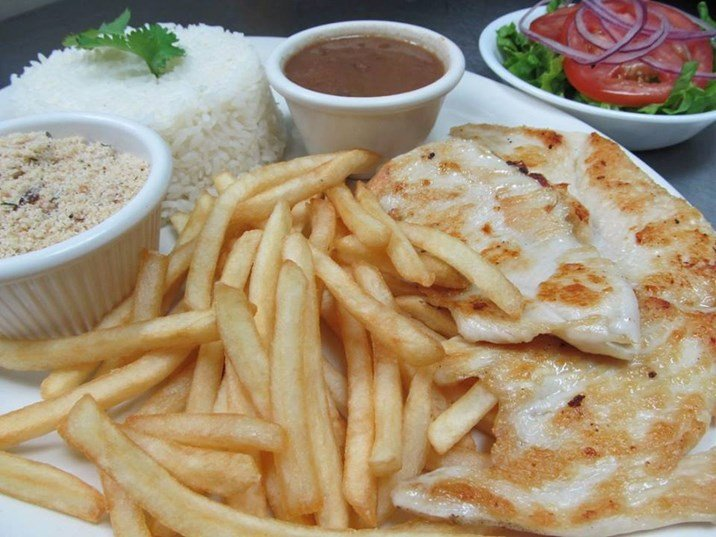 Mrs Potato comida brasileira em Orlando