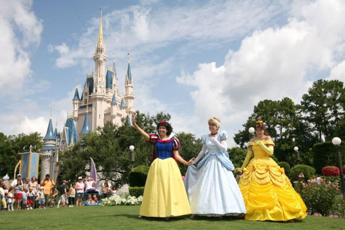 Onde encontrar as Princesas da Disney?