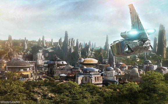 Star wars area hollywood Studios